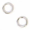 Jump Ring Round 5.5mm OD 20gauge Silver Soldered